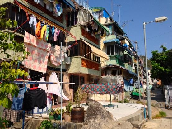 Houses on Cheung Chau Island