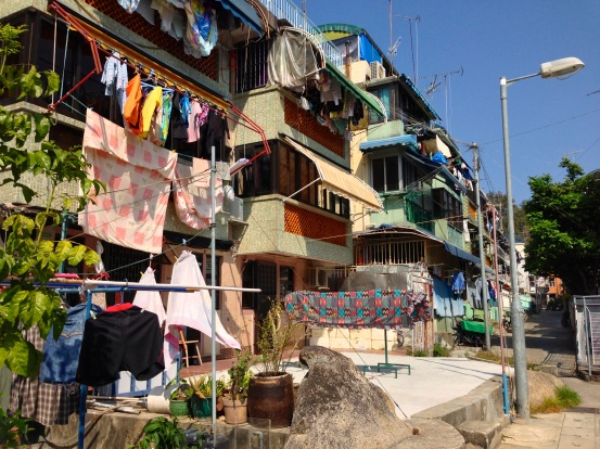 Houses on Cheung Chau Island