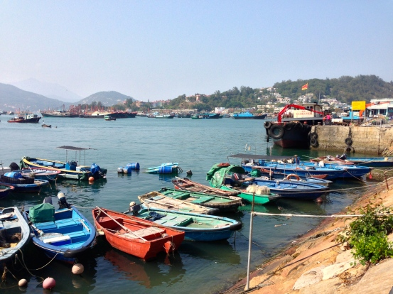 Boats at Cheung Chau Island